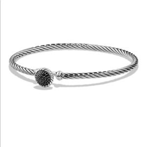 David Yurman Chatelaine Bracelet Black Diamonds